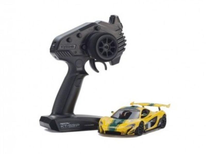 Mini-Z RWD McLaren P1 GTR Y/G (W-MM/KT531P)