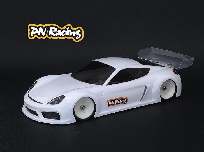 PN Racing Carrocería GT4LB Lexan Versión Ligera