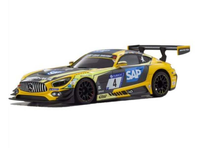Carrocería Autoscale Mercedes AMG GT3 Amarilla y negra